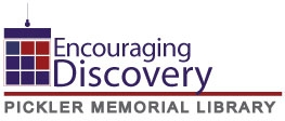 Pickler Memorial Library Encouraging discovery