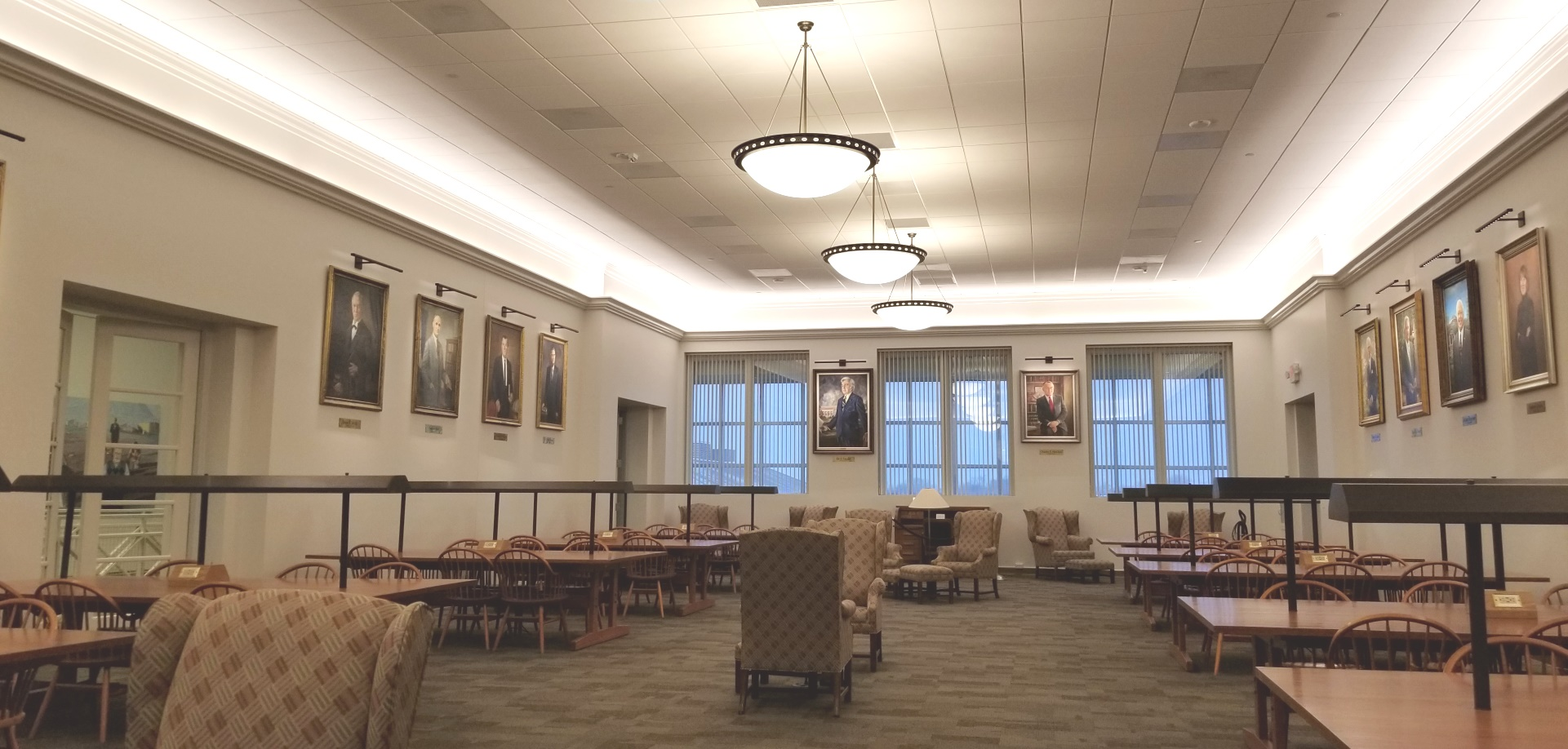 Presidential Reading Room, 308