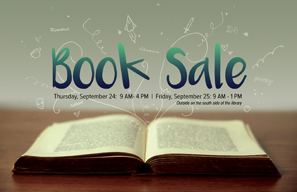 Library Book Sale 2015 Logo