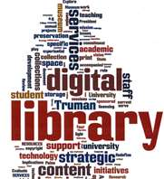 library tag cloud