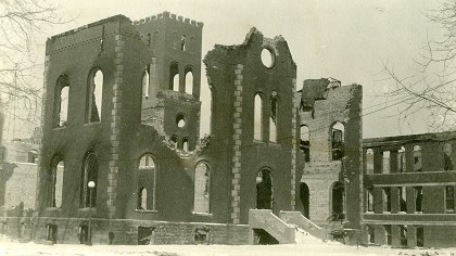 Memories of the 1924 Baldwin Hall fire.  | University Archives.